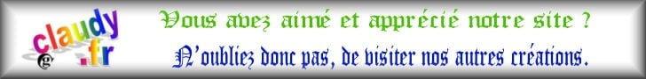 Visitez nos autres sites claudy.fr annuaire.retz.info